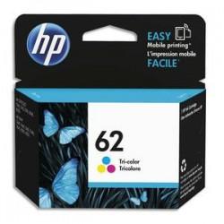 HP Pack jet d'encre 3 couleurs 62 C2P06AE