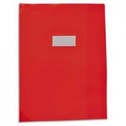 ELBA Protège-cahier School Life 24x32 PVC opaque 14/100°, coins + porte-étiquette. 4 coloris assortis