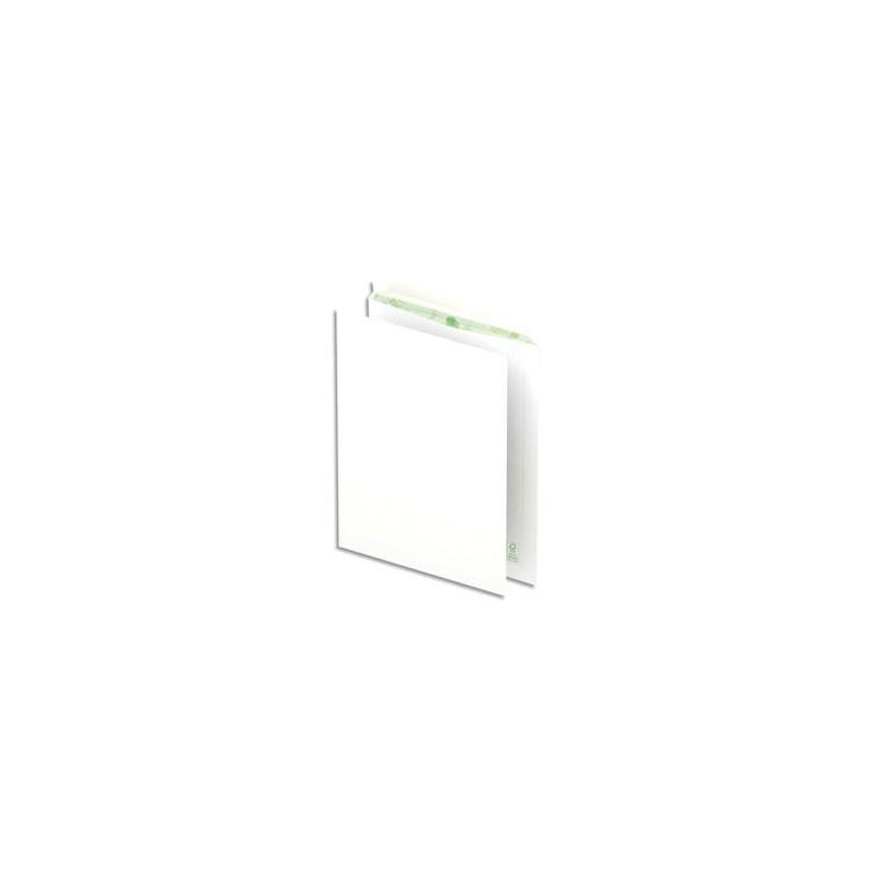 OXFORD Boîte de 500 pochettes recyclées extra blanches 90g format C4 229x324 mm