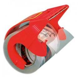 SCOTCH Ruban adhésif d'emballage en PP 75 microns H50 mm x L20 mètres transparent sur dévidoir 25011