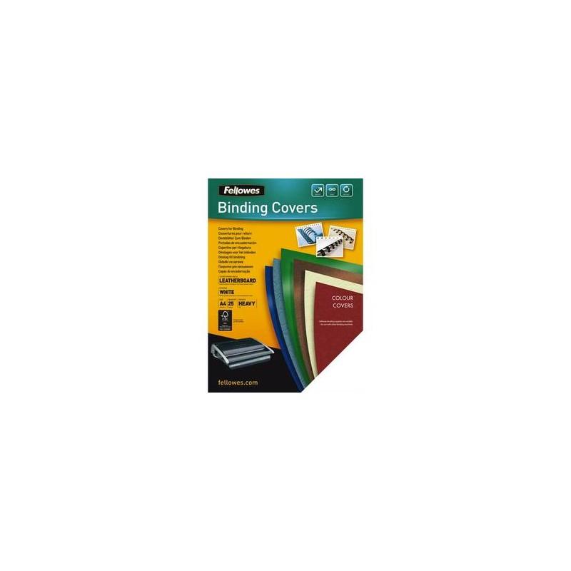 FELLOWES Boîtes de 25 couvertures DELTA format A4 blanc 5373601