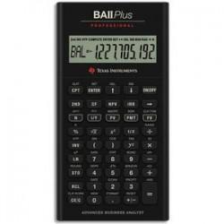 TEXAS INSTRUMENTS Calculatrice financière BA II Plus Pro
