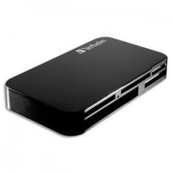 VERBATIM Lecteur de carte universel SHDC/SD/SDXC 47264 / 97706 (USB3.0)