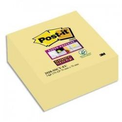 POST-IT Bloc cube Super Sticky 270 feuilles jaune 76 x 76 mm