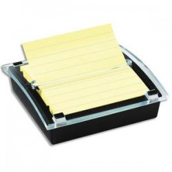 POST-IT Dévidoir Znotes Millénium pour notes 101x101mm, livré avec 1 bloc 90 feuilles jaunes BP913