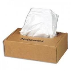FELLOWES Boîte de 50 sacs de destructeurs de 53 à 75 litres - Séries 125/225 - 36054