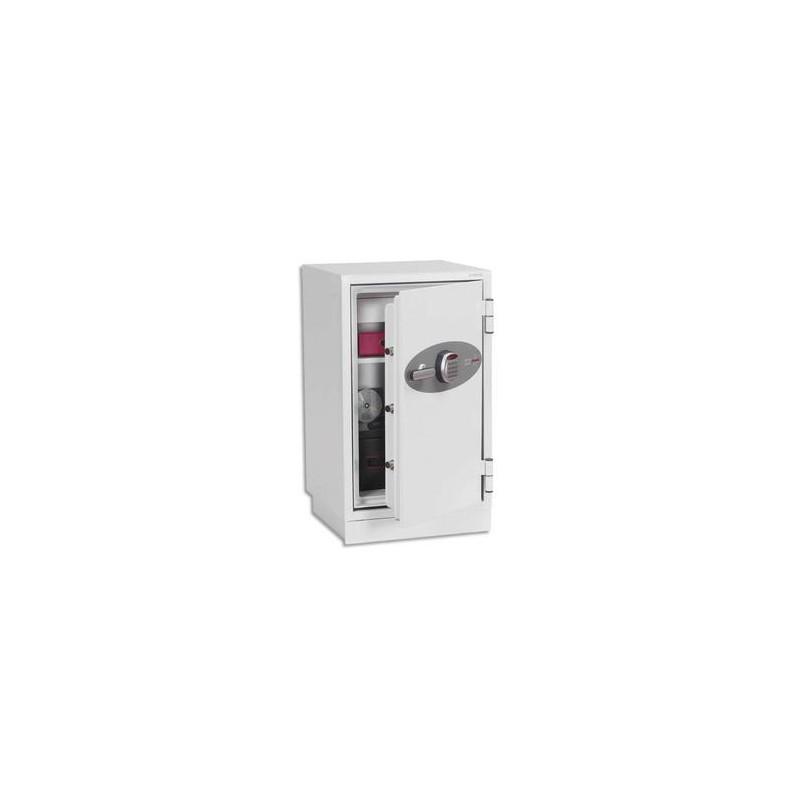 PHOENIX Coffre-fort ignifuge 1h30 acier gris serie 2500 84litres 52 x 90,5 x 52 cm Data combi