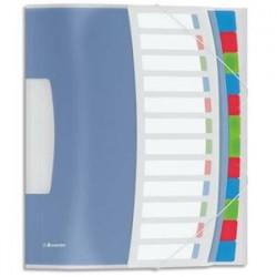 ESSELTE Trieur 12 touches - Vivida multicolores