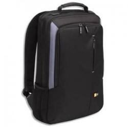 CASE LOGIC Sac à dos Noir Nylon rembourré pour PC portable jusqu'à 17'' - 33,4x55,4x8,3cm VNB-217