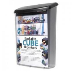 DEFLECTO Boîte pour extérieur incassable avec protection UV format A4 - L25 x H33,5 x P10 cm transparent
