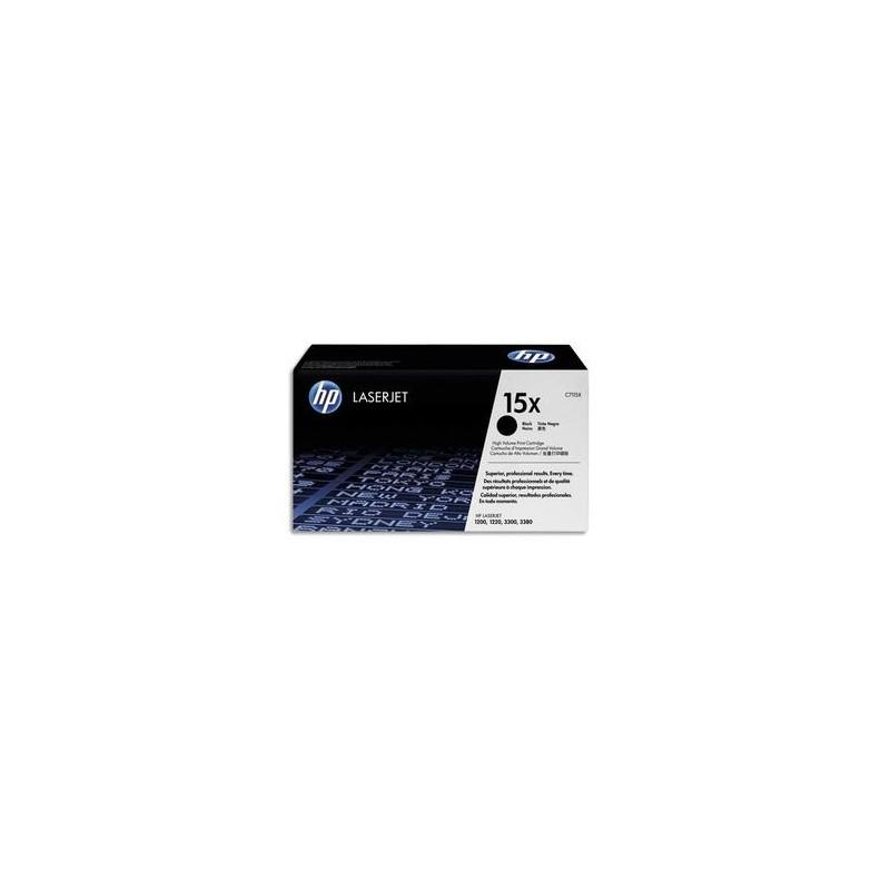 HP Cartouche laser noire haute capacite 3500 pages pour laserjet 1200-1220 ref C7115X