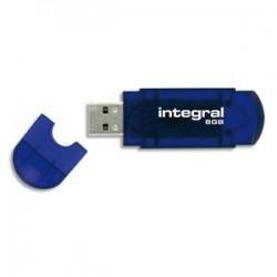 INTEGRAL Clé USB 8GB ''EVO'' INFD8GBEVOBLFW