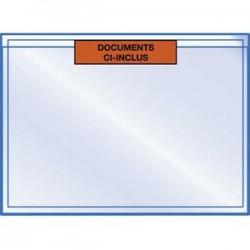 EMBALLAGE Boîte de 1000 pochettes pour documents Ci-Inclus - Format : 22.5 x 16.5 cm
