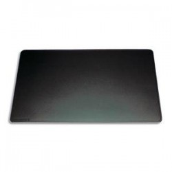 DURABLE Sous-main classique en PVC souple. Dimensions: 42 x 30 cm. Coloris noir