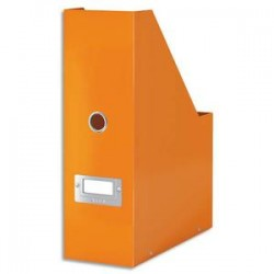 ESSELTE Porte-revues CLICK & STORE - Dimensions : L103xH330xP 253mm - Coloris : Orange Wow