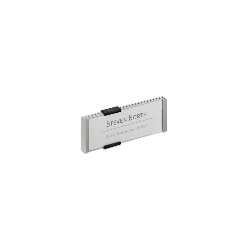 DURABLE Plaque de signalisation INFOSIGN format TITRE, personnalisable par ordinateur,