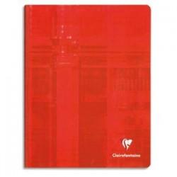 CLAIREFONTAINE Cahier brochure 21x29,7cm 384 pages réglure 5x5 Couverture carte