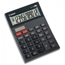 CANON Calculatrice de bureau 12 hciffres AS-120 4582B003