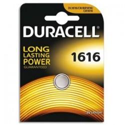 DURACELL Blister d'1 pile 1616 Lithium Duralock pour appareils électroniques 5000394030336