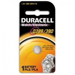 DURACELL Blister d'1 pile 389/390 oxyde d'argent Duralock pour montres 5000394068124