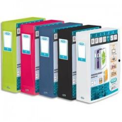 ELBA Boîte de classement personnalisable POLYVISION, format 24x32cm, dos 8cm coloris assortis opaque