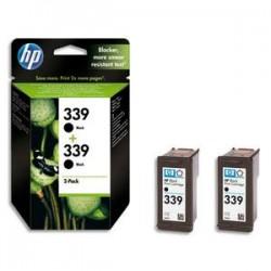 HP Cartouche encre No 339 PACK2 NOIR C9504EE