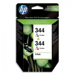 HP Cartouche encre No 344 PACK2 3COUL C9505EE