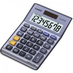 CASIO Calculatrice de bureau 8 chiffres MS88TER/TERII