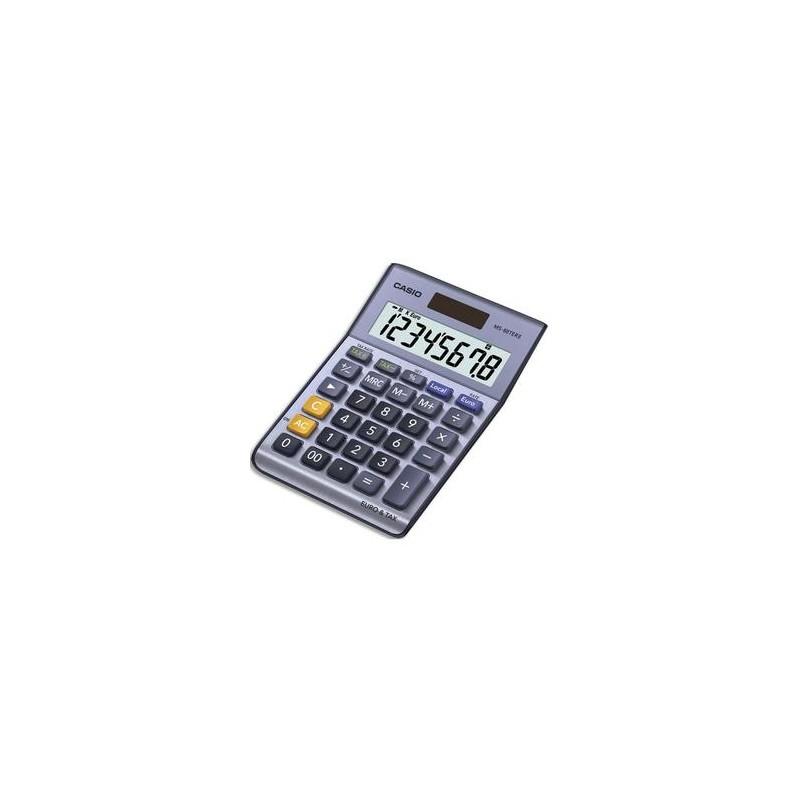 CASIO Calculatrice de bureau 8 chiffres MS88TER/TERII