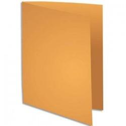 """EXACOMPTA Paquet de 100 chemises ROCK""""S en carte 210g coloris ocre"""