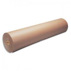 MAILDOR Bobine de papier kraft 70g brun - Dimensions : H1m x L350mètres