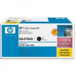 HP Cartouche laserjet noir Q6470A