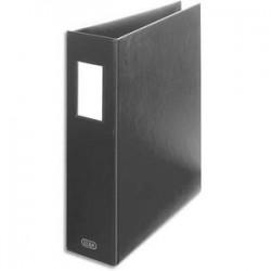 ELBA Classeur à arceaux capacité 6,5 cm en PVC noir