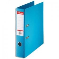 ESSELTE Classeur à levier Esselte Standard en polypropylène, dos 75 mm, coloris bleu clair
