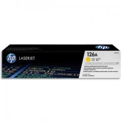 HP Cartouche laser jaune CE312A