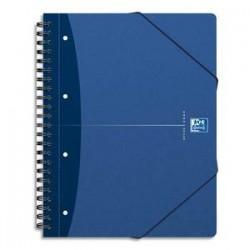 OXFORD Cahier MEETING BOOK reliure intégrale couv soupe A4+ 180 pages réglure 5x5
