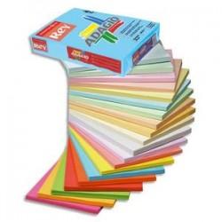 PAPYRUS Ramette 500 feuilles papier couleur vive ADAGIO bouton d'or vif A4 80g
