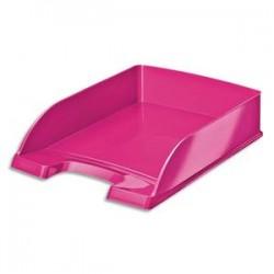 LEITZ Corbeille à courrier Leitz Plus - WOW rose métallisé - L35,7 x H7 x P25,5 cm