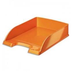 LEITZ Corbeille à courrier Leitz Plus - WOW orange métallisé - L35,7 x H7 x P25,5 cm