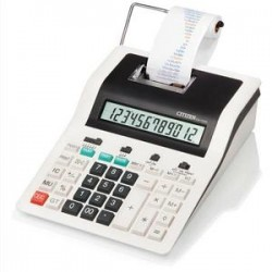 CITIZEN Calculatrice imprimante professionnelle 12 chiffres CX123N