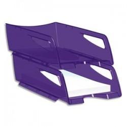 CEP Corbeille à courrier maxi Happy ultra violet 25x10,1x34 cm