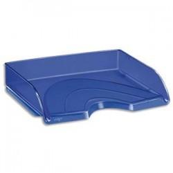 CEP Corbeille à courrier à l' italienne Happy bleu électrique 35x7x26 cm