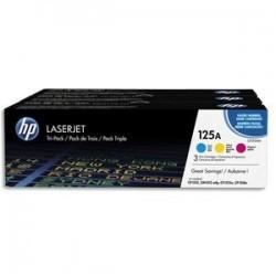 HP Tri pack couleurs laser 125A CF373AM
