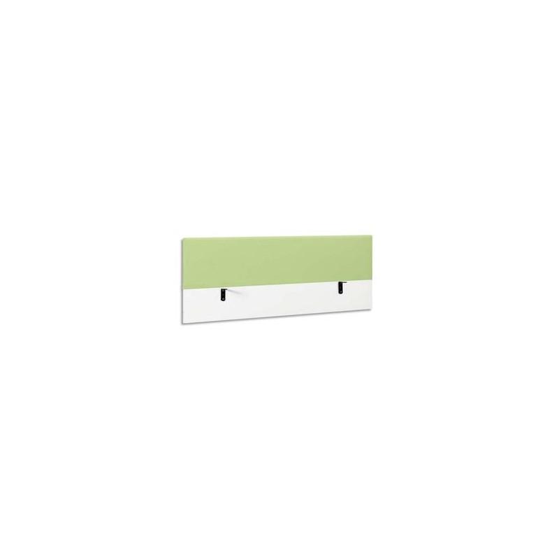 GAUTIER Ecran de séparation 160 tissu kiwi Sunday - Dimensions : L160 x H60 x P5 cm
