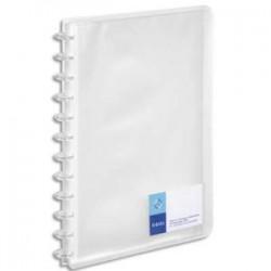 VIQUEL Protège-documents MAXI GEODE en polypro translucide 7/10. 60 vues, 30 pochettes. Incolore.