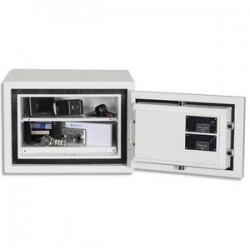 PHOENIX Coffre-fort CITADEL serrure à clés 18 litres blanc EN14450 - Dimensions : L44,5 x H31,5 x P44 cm