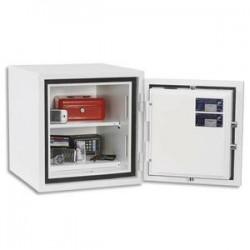 PHOENIX Coffre-fort CITADEL serrure électronique 31 litres blanc EN14450 - Dim. : L44 x H46 x P44 cm