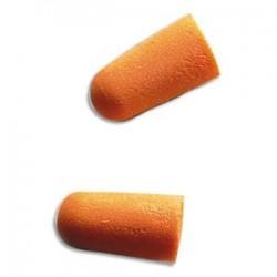 3M Boîte de 200 paires de Bouchons d'oreilles jetables en mousse souple conique orange K1100