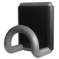 UNILUX Patère magnétique gris métallisé 8x10 cm