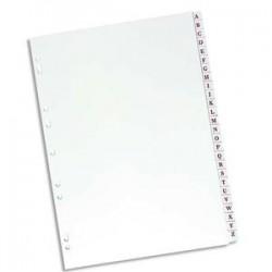 ELBA Répertoire alphabétique 26 positions en PVC 19/100e